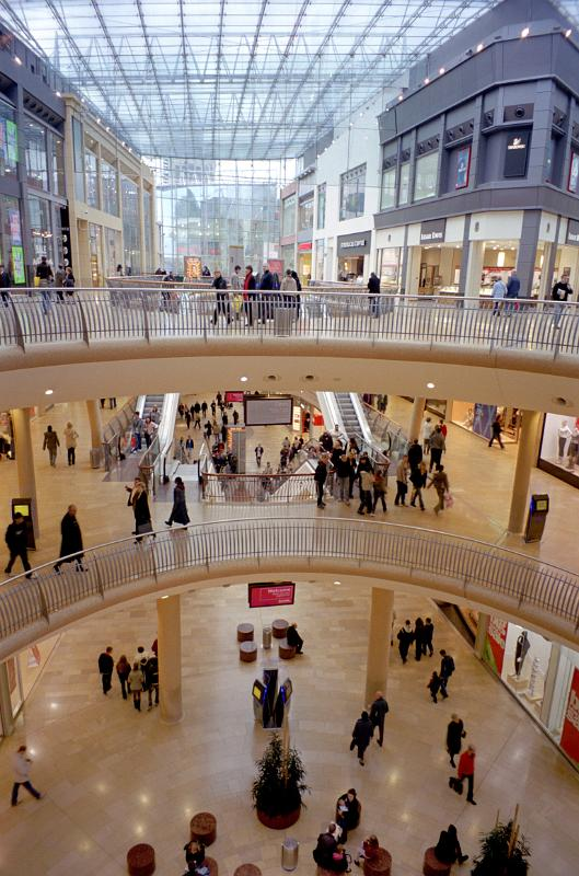 free stock photo of inside the new bullring shopping