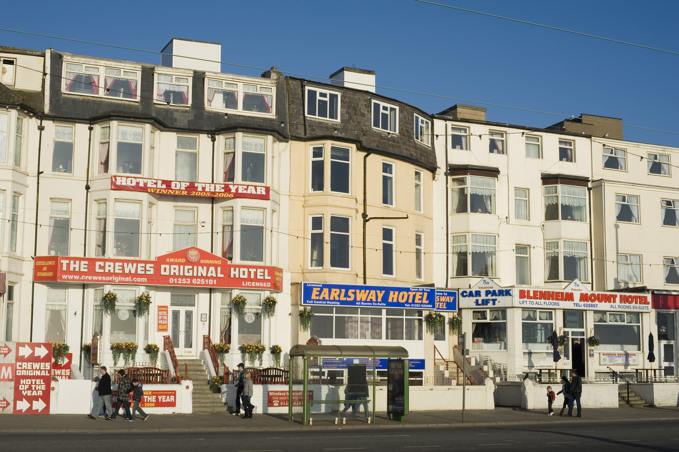 hotels and guesthouses on brackpool seafront