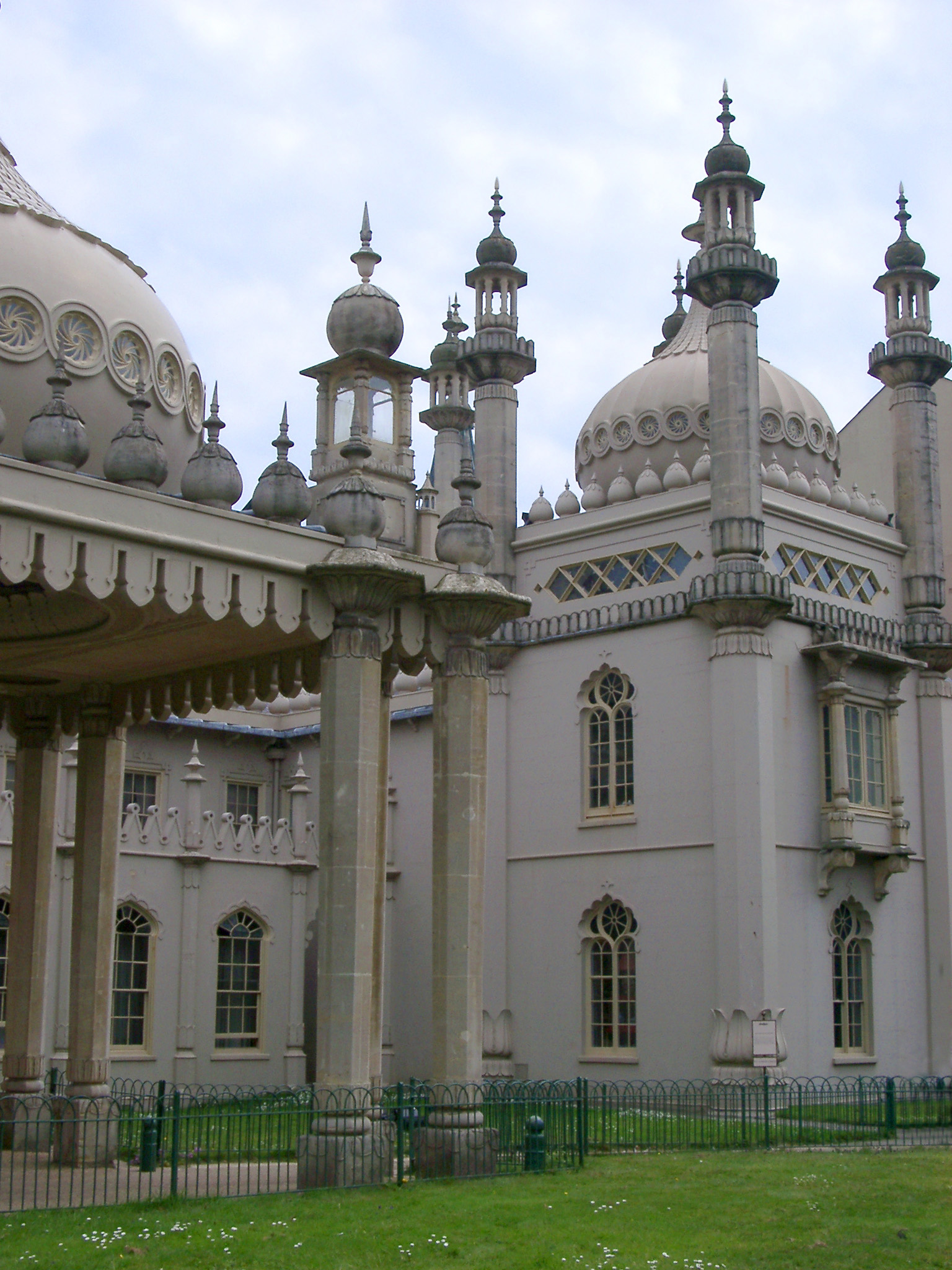 Royal Pavilion Building, the Former Royal Residence in Brighton, England.