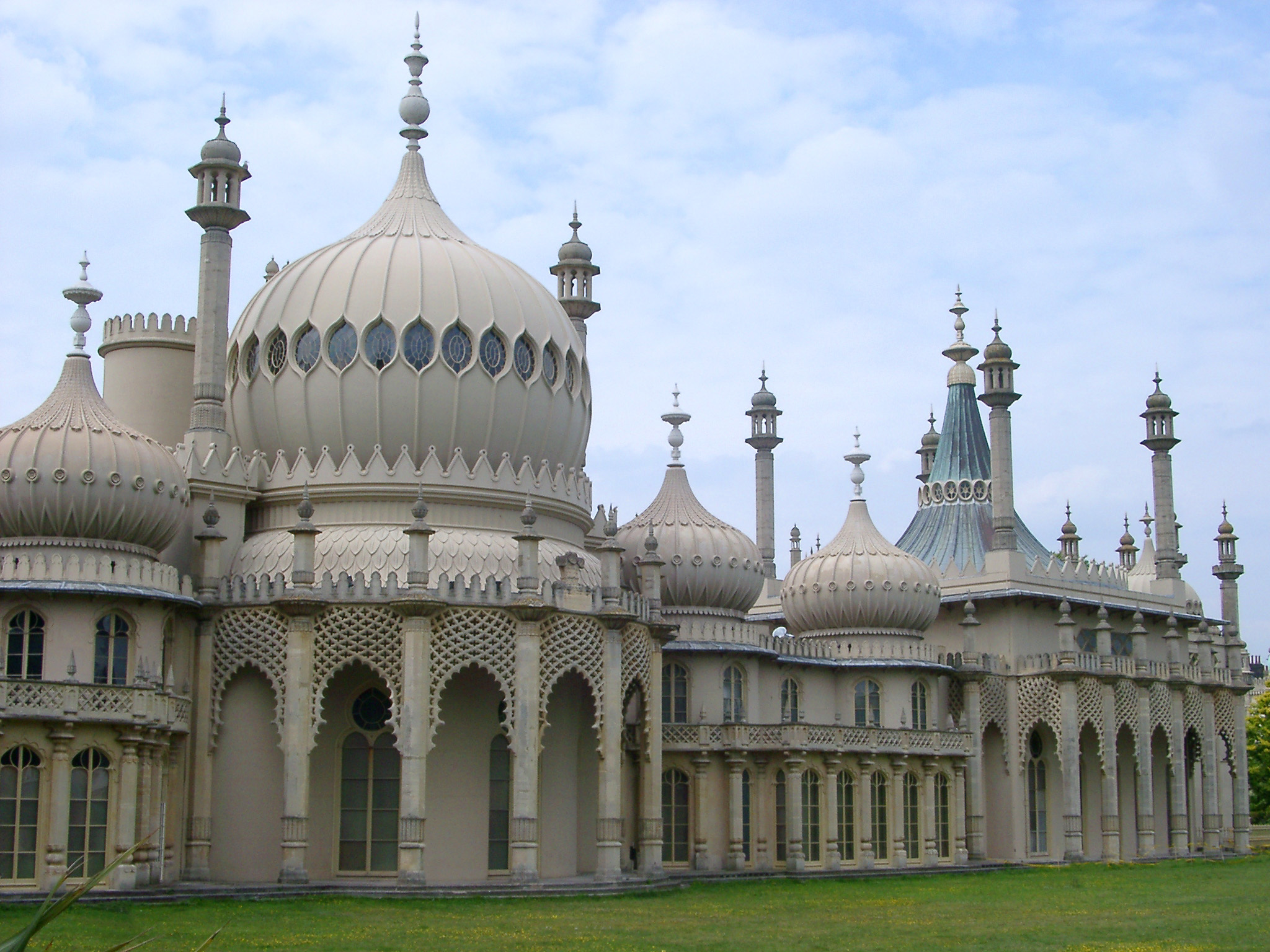 Free stock photo of front view of architectural royal for The brighton