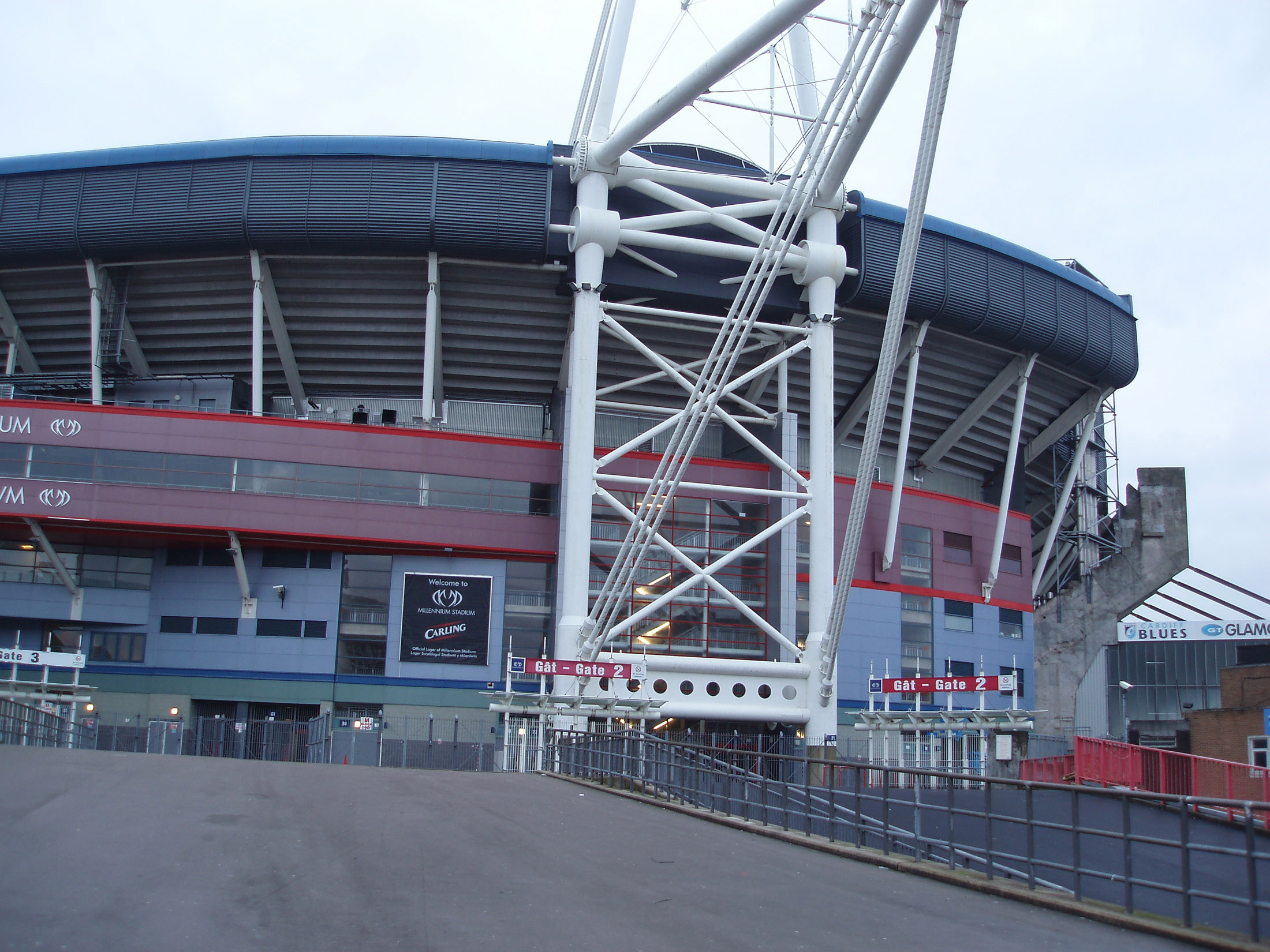 Millennium Stadium, the National Stadium of Wales.Located in the Capital City of Cardiff