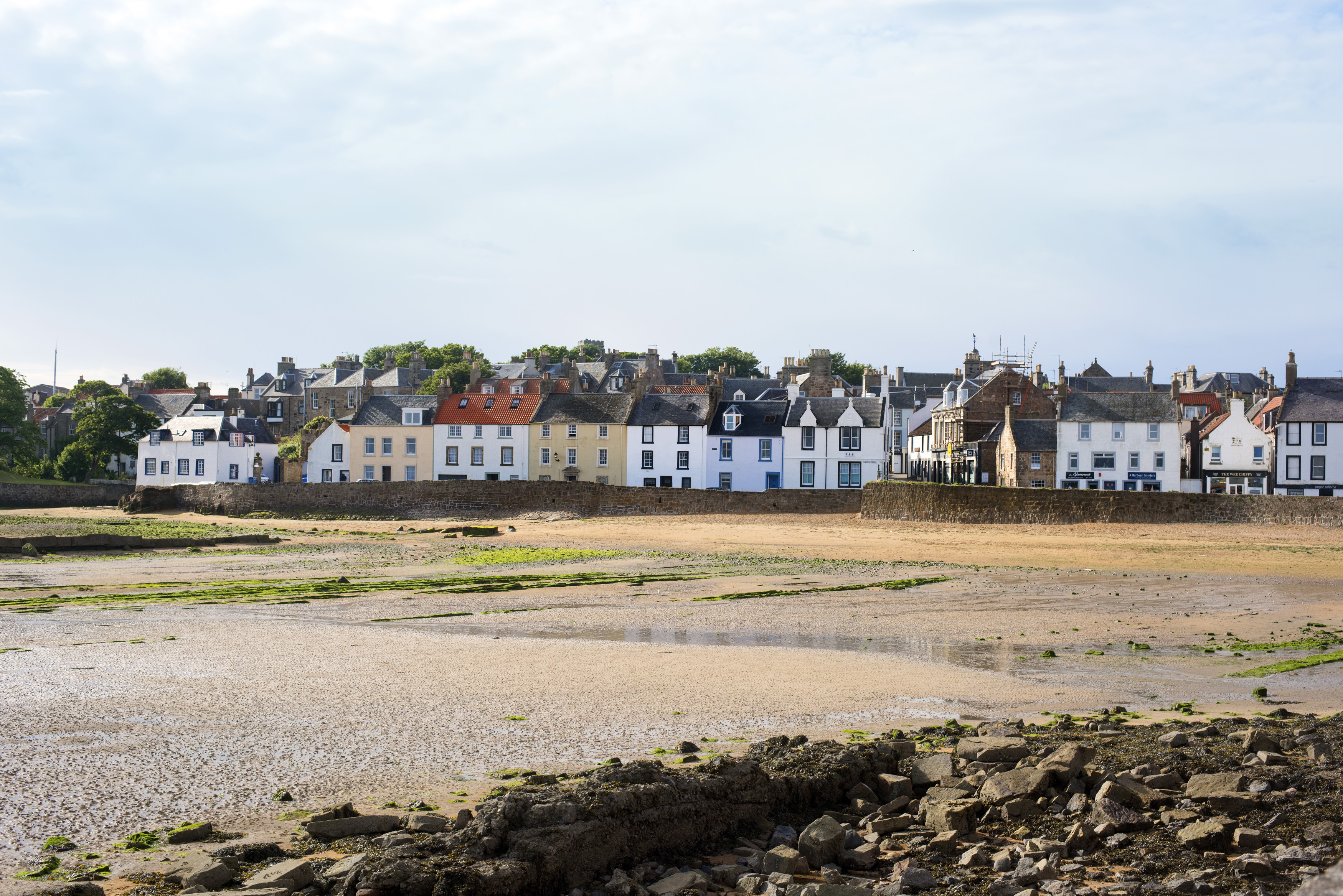 Free Stock photo of Anstruther fishing cottages | Photoeverywhere