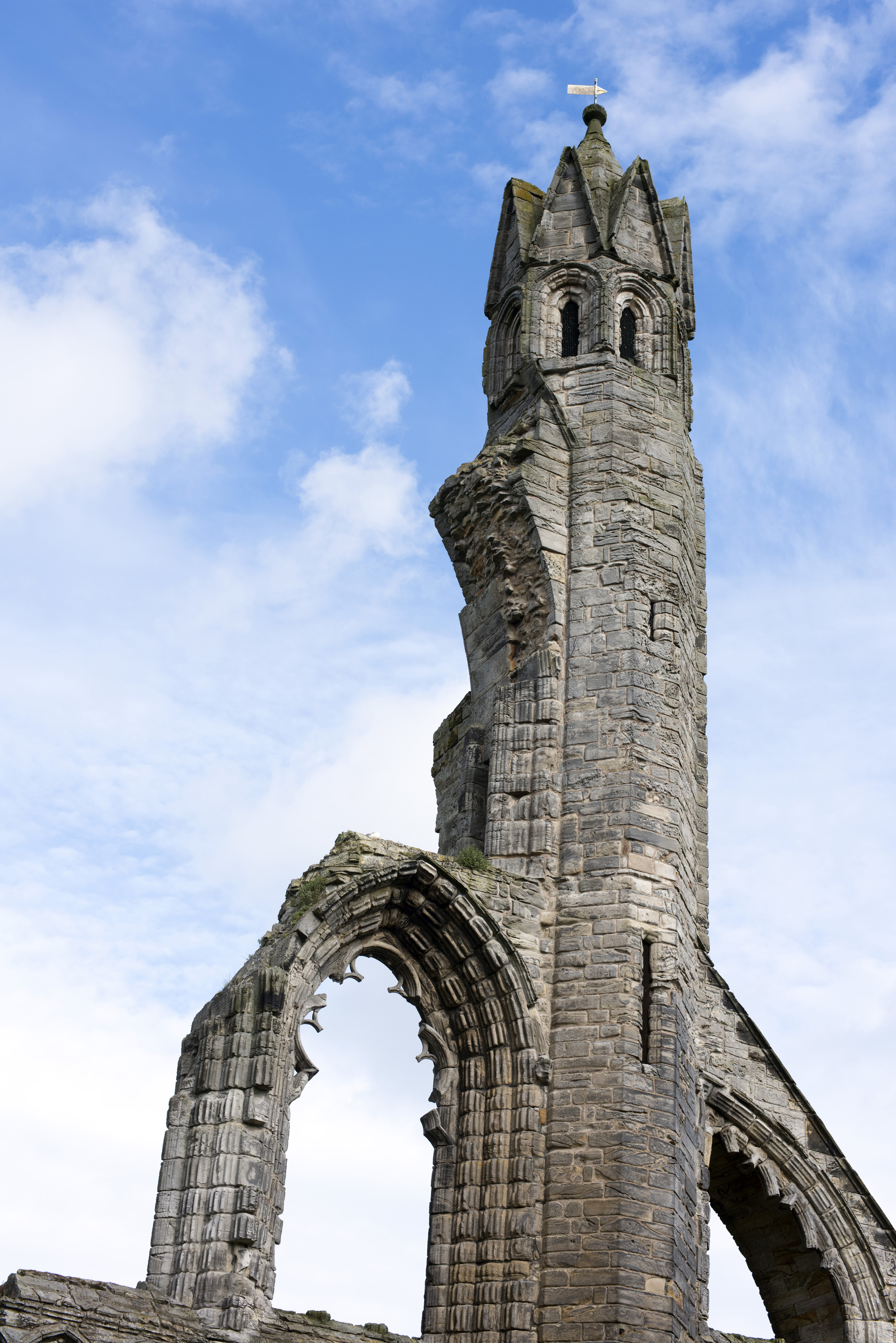 Free Stock Photo Of Old Stone Carved Tower Of Saint