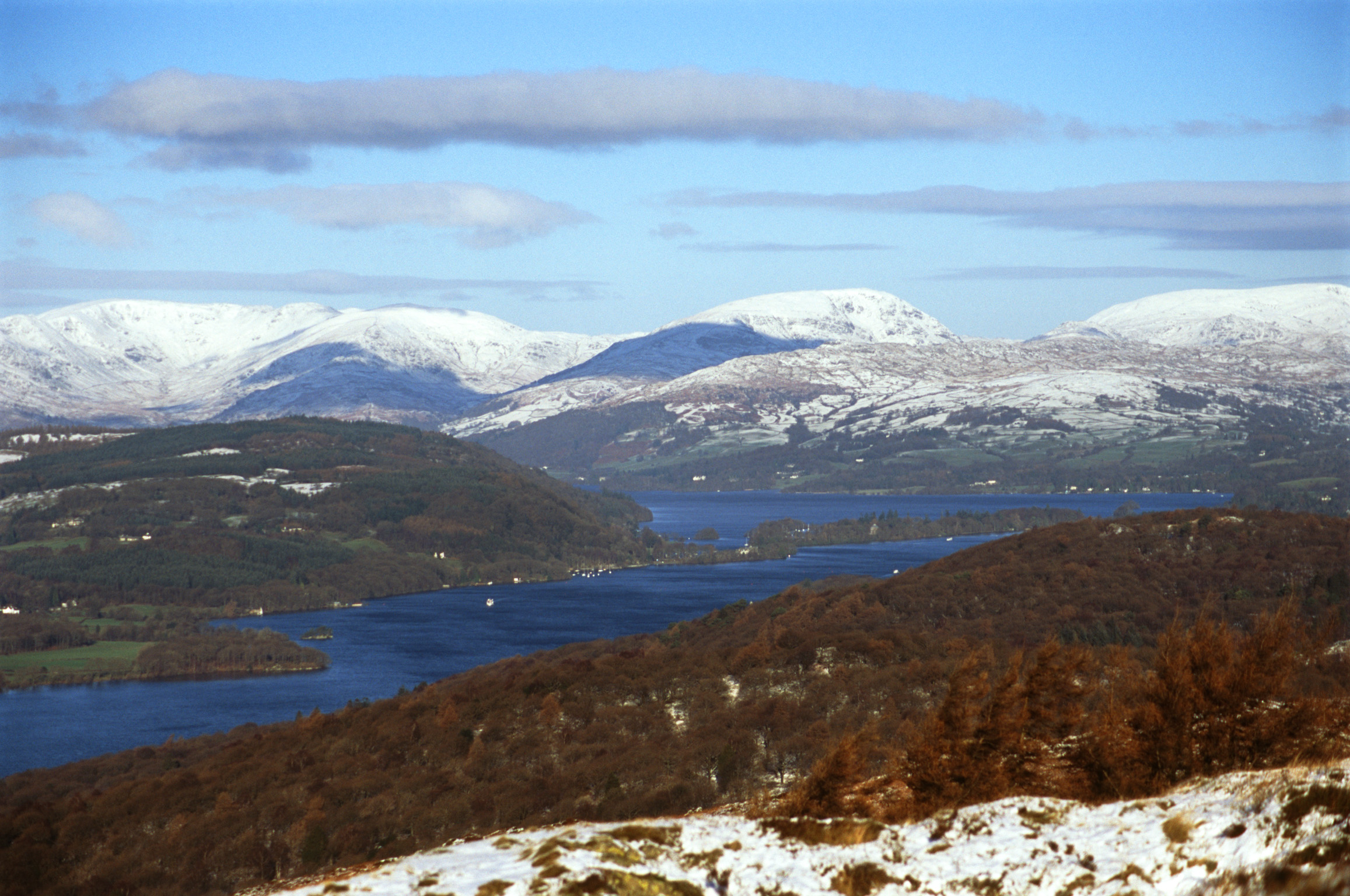 windermere in winter