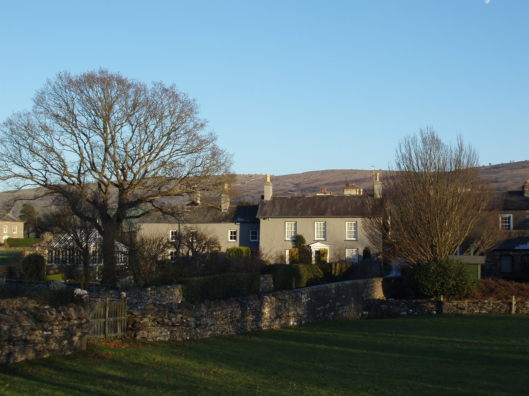 houses in the village of cartmel