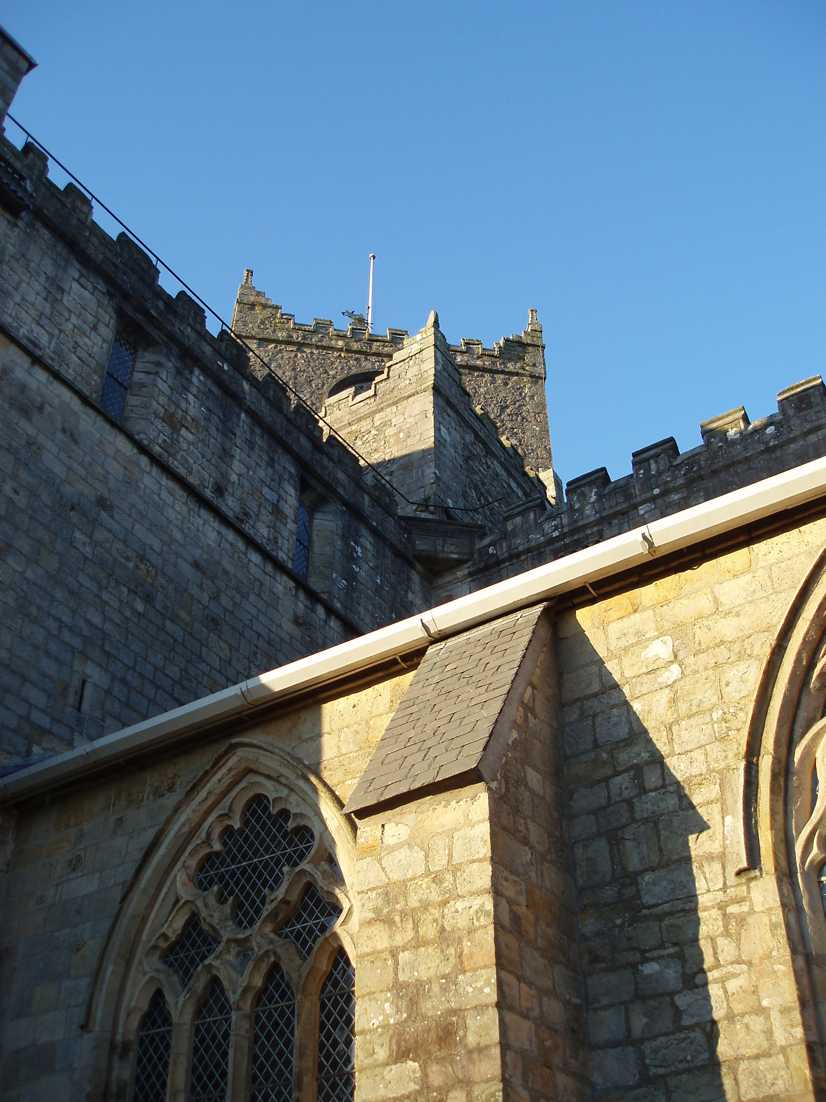 architectural details of cartmel priory
