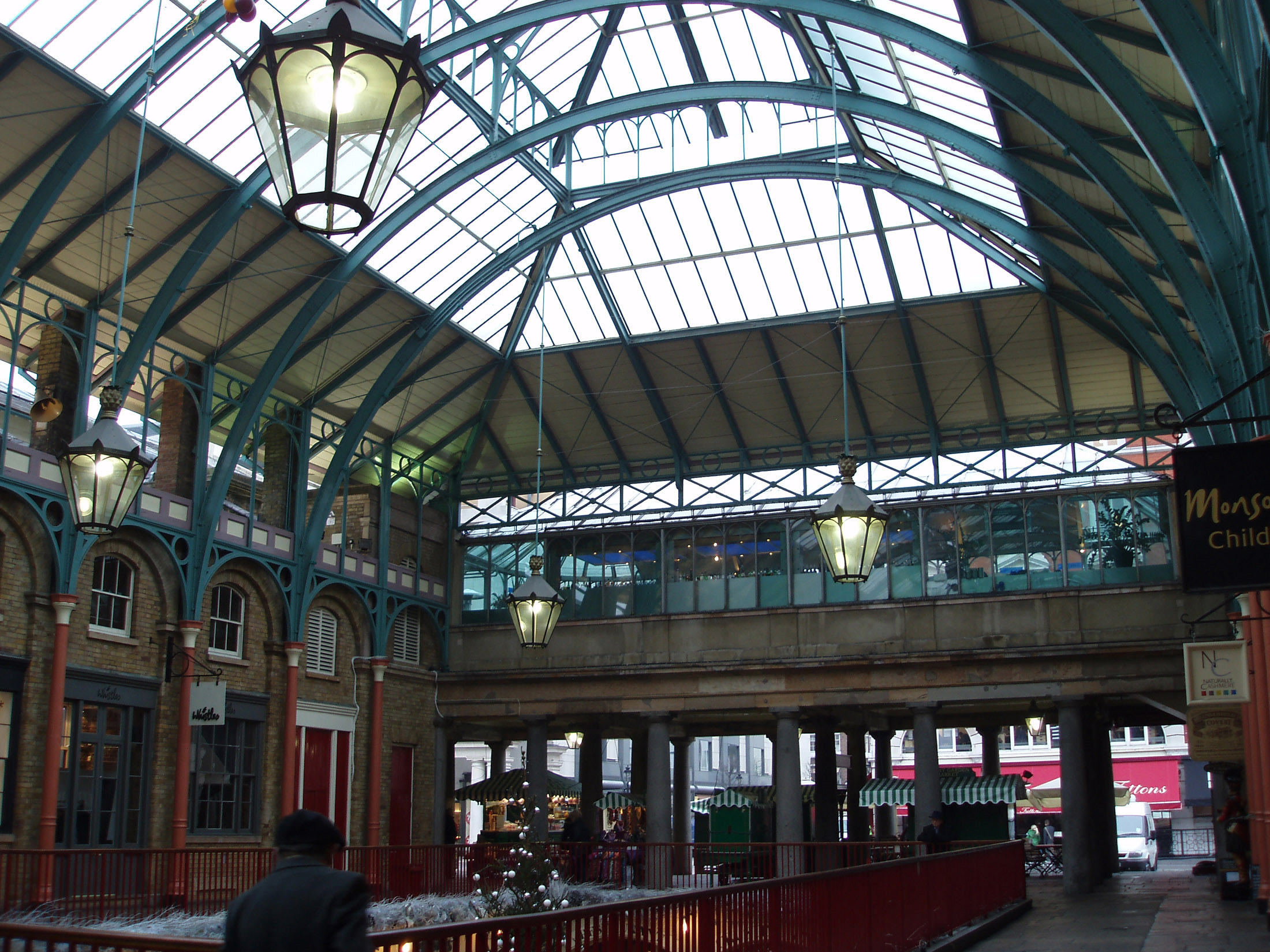 Covent Garden Market Building, a Huge Piazza or Open Area in London, between the West End and the City of London.