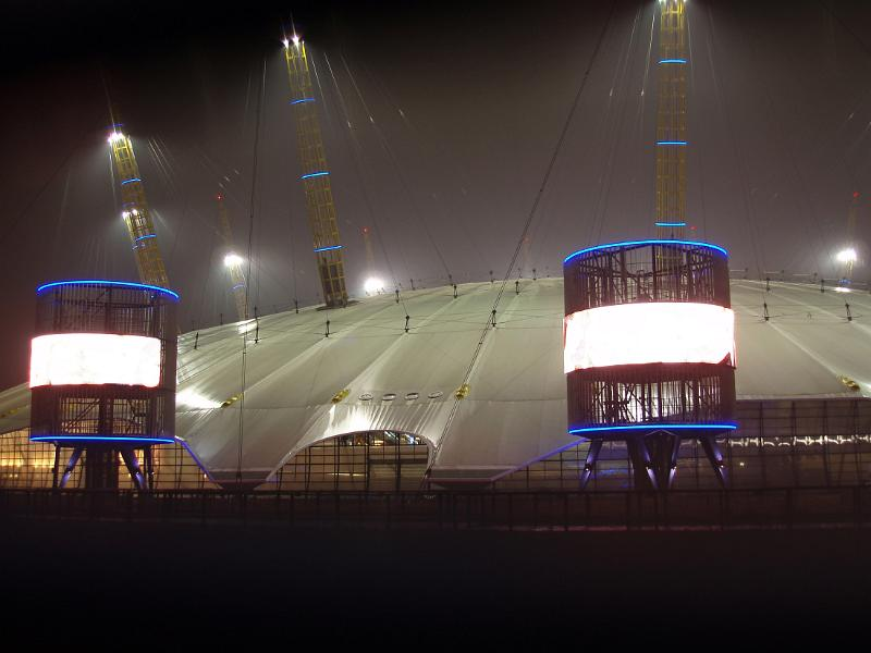 free stock photo of the millennium dome or the o2