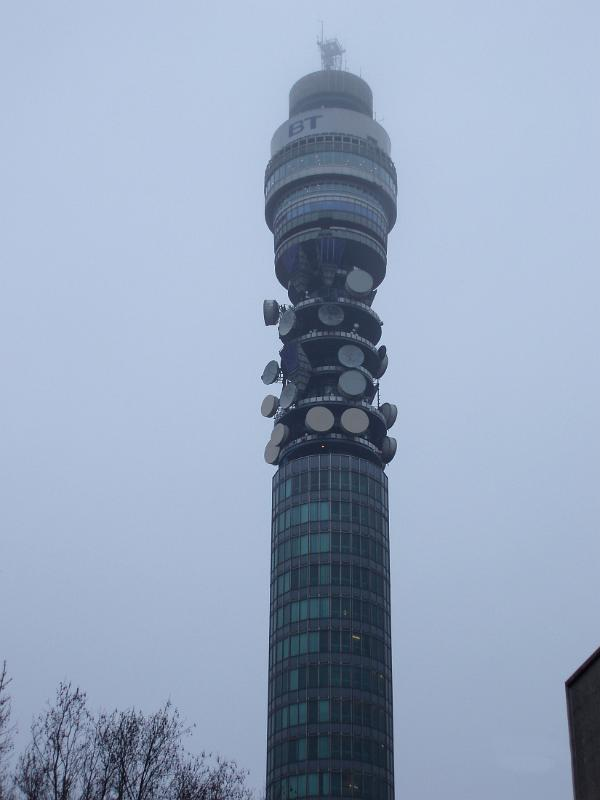 Morning Mist >> Free Stock photo of BT Tower or London Telecom Tower | Photoeverywhere