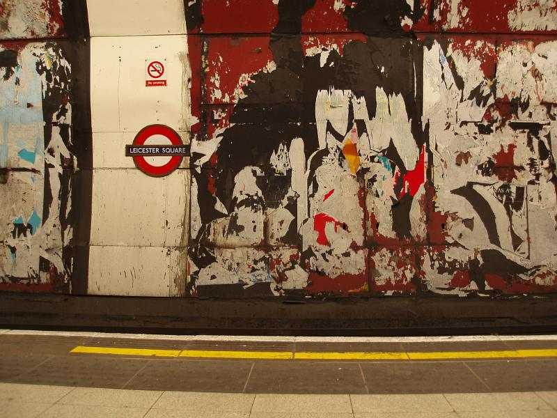 Free Stock Photo Of Grungy Walls On The London Underground