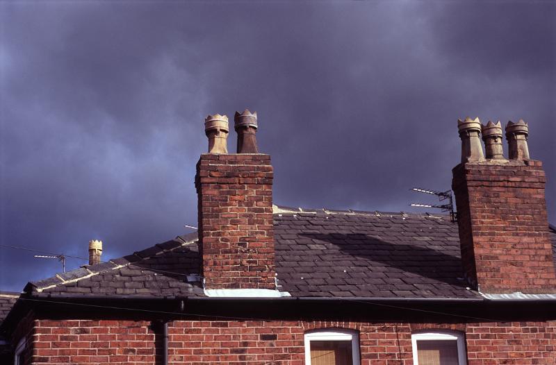 Free Stock Photo Of Red Brick Chimney Pots Photoeverywhere