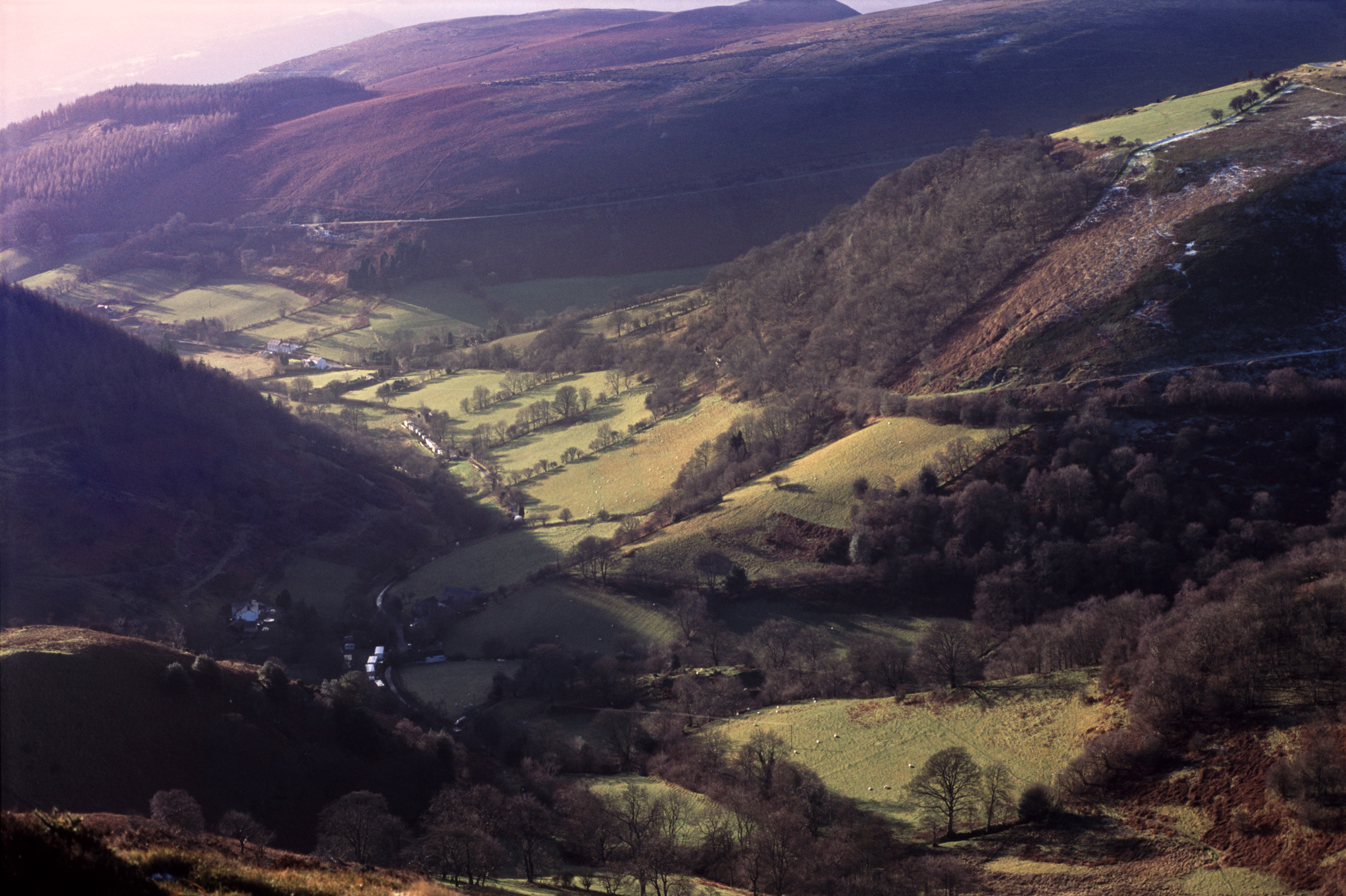 spectacular scenery of the north wales countryside
