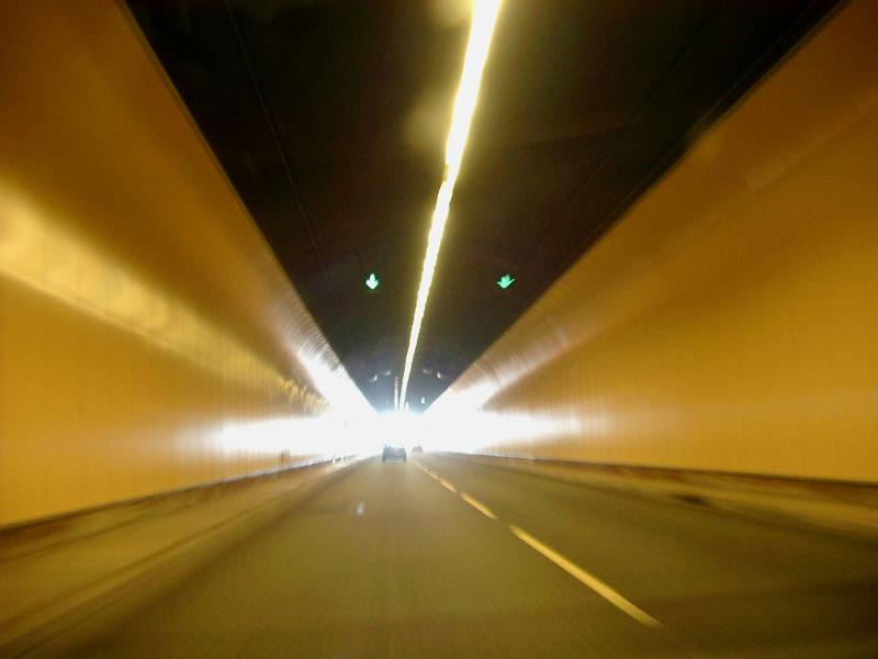 Free Stock photo of Interior of a road tunnel ...  Free Stock phot...