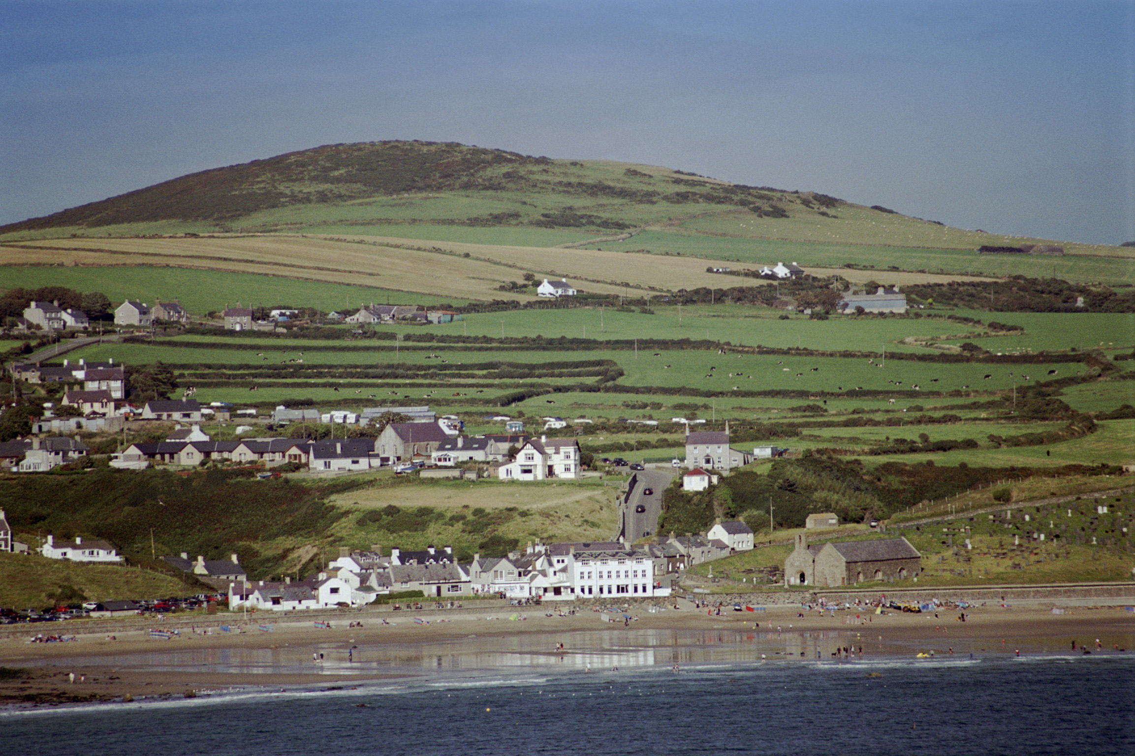 Picturesque view of Aberdaron