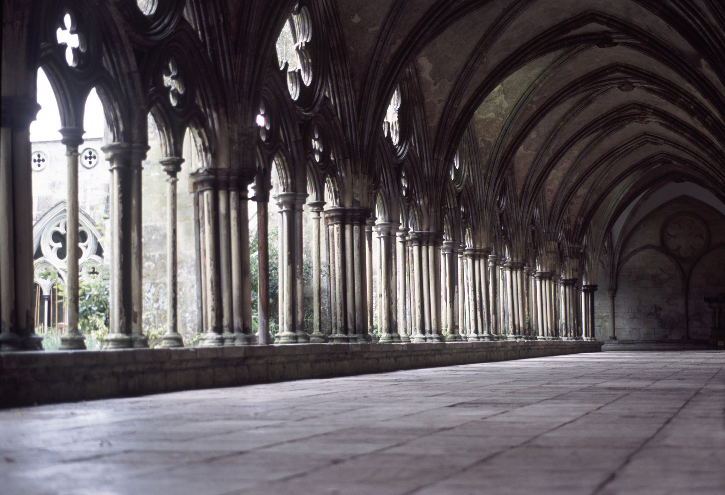free stock photo of cloisters salisbury cathedral