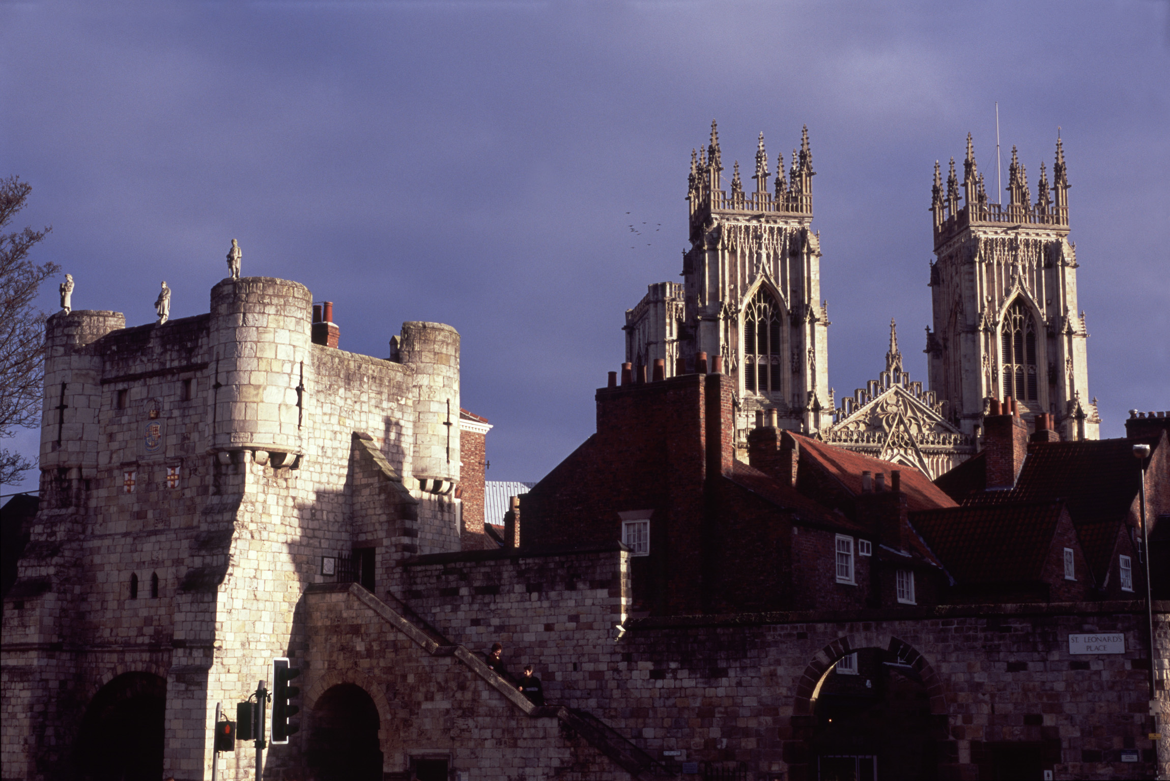 York minster and bootham bar