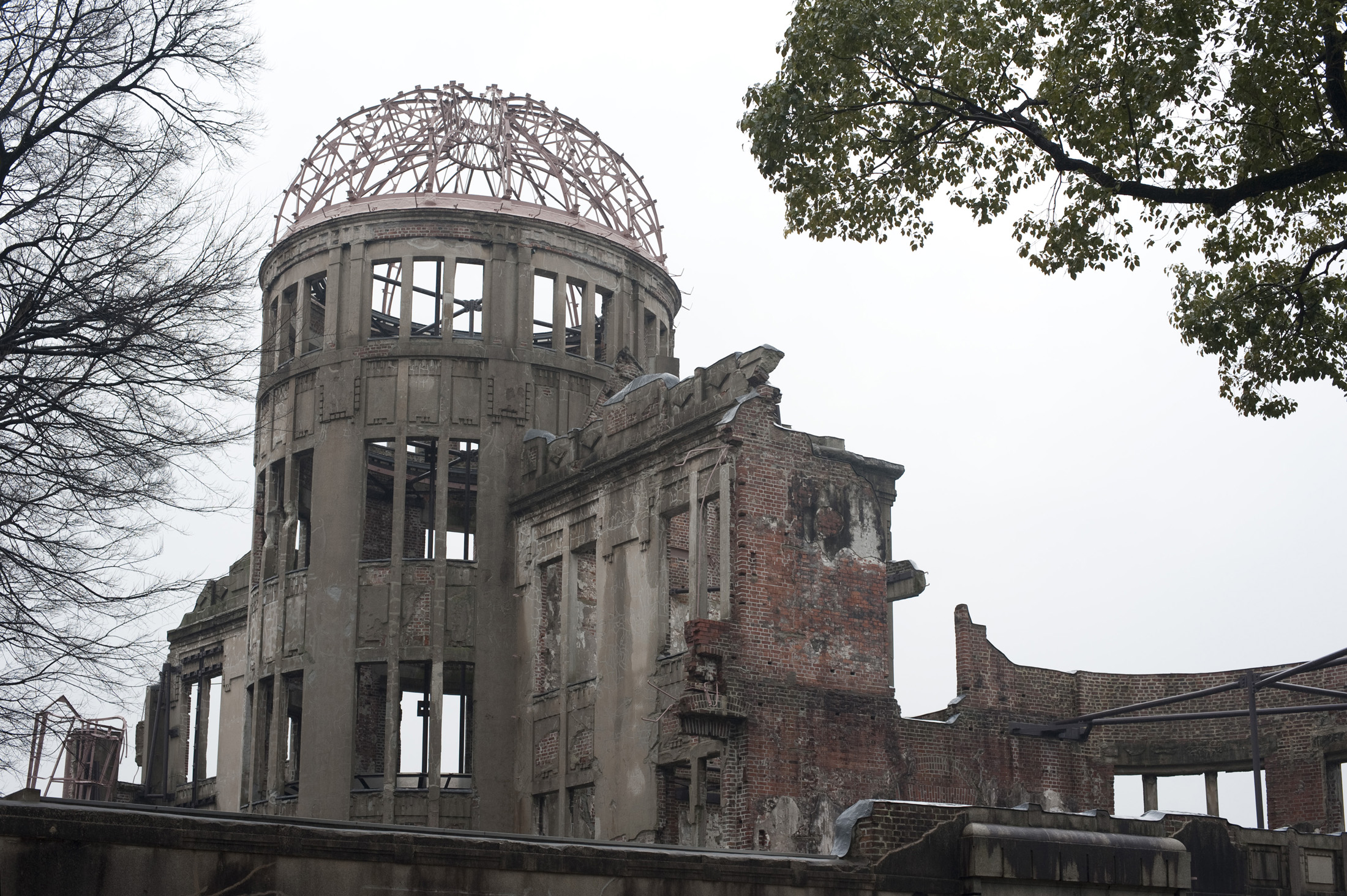 Hiroshima Peace Memorial, commonly called the Atomic Bomb Dome or A-Bomb Dome, Genbaku Dome