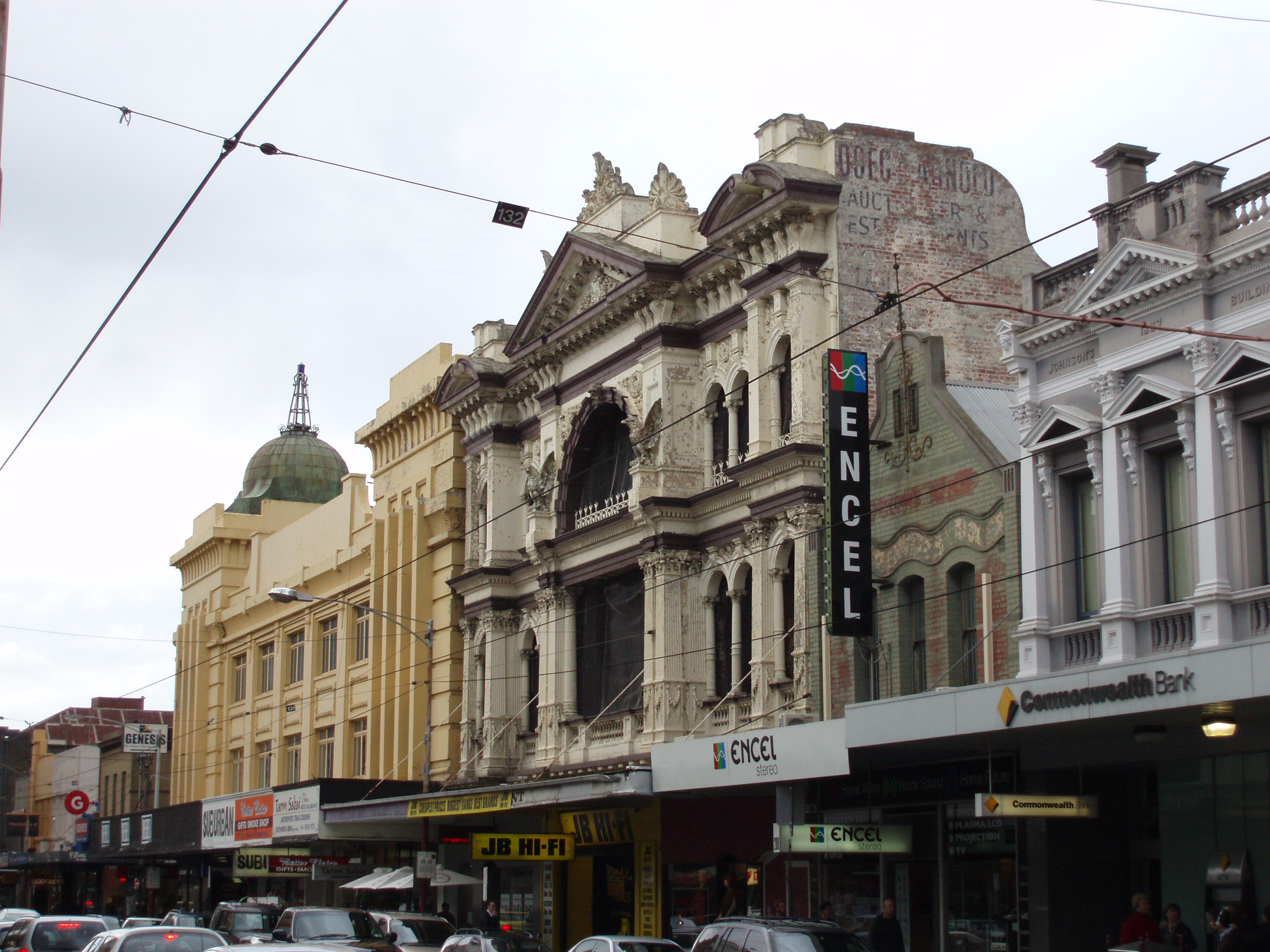 Famous Historic Architectural Built Structures of Market Arcade at South Yarra in Melbourne Australia.