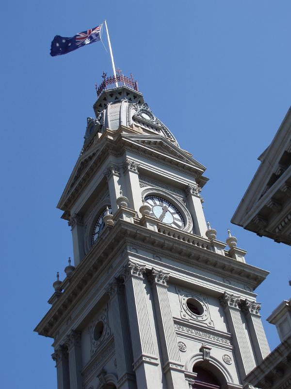 Fitzroy Town Hall in Melbourne by photoeverywhere.co.uk