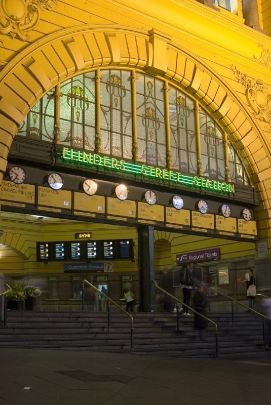 Free Stock Photo Of Flinders Street Railway Station