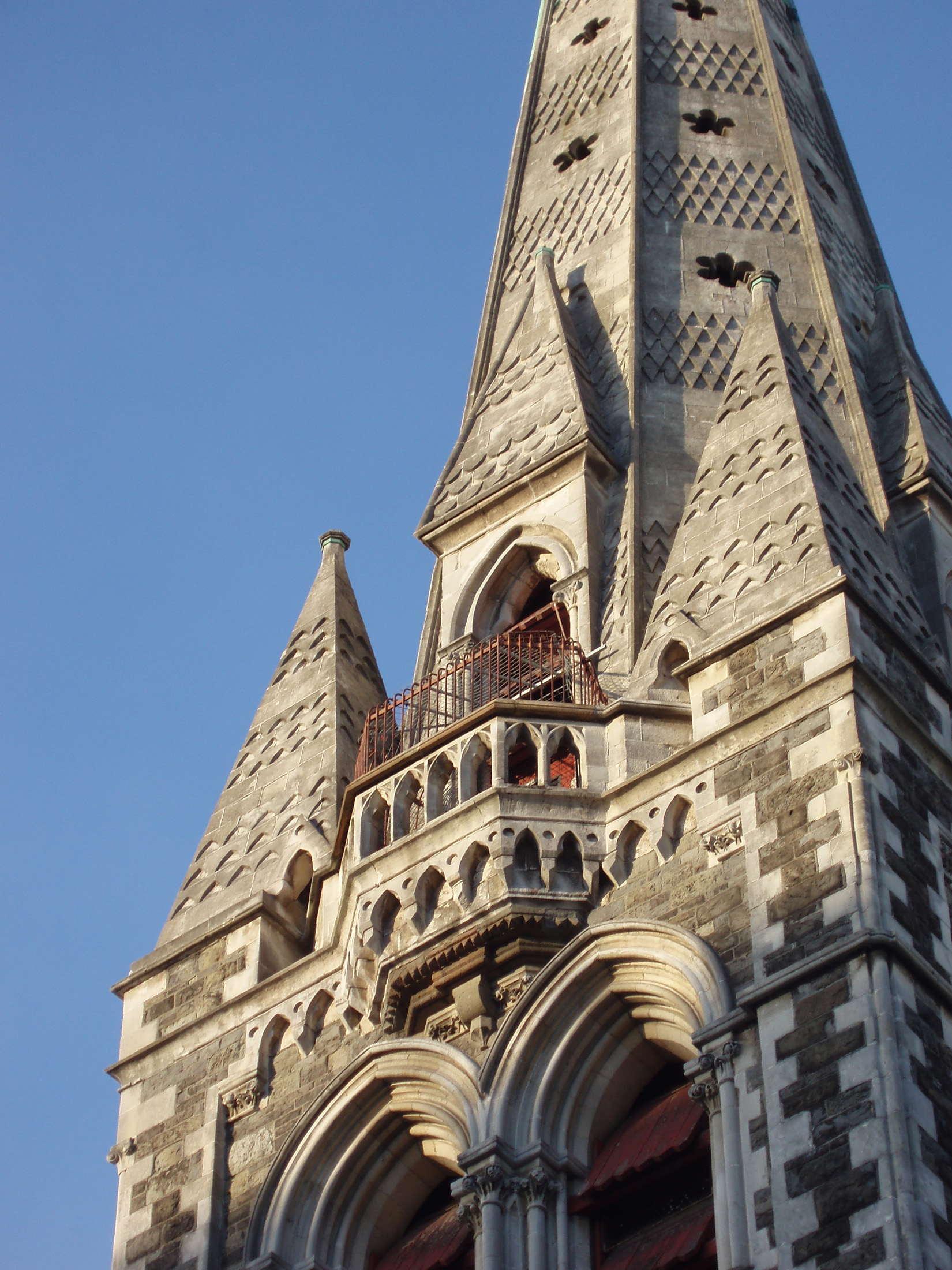 christchurch cathedral tower