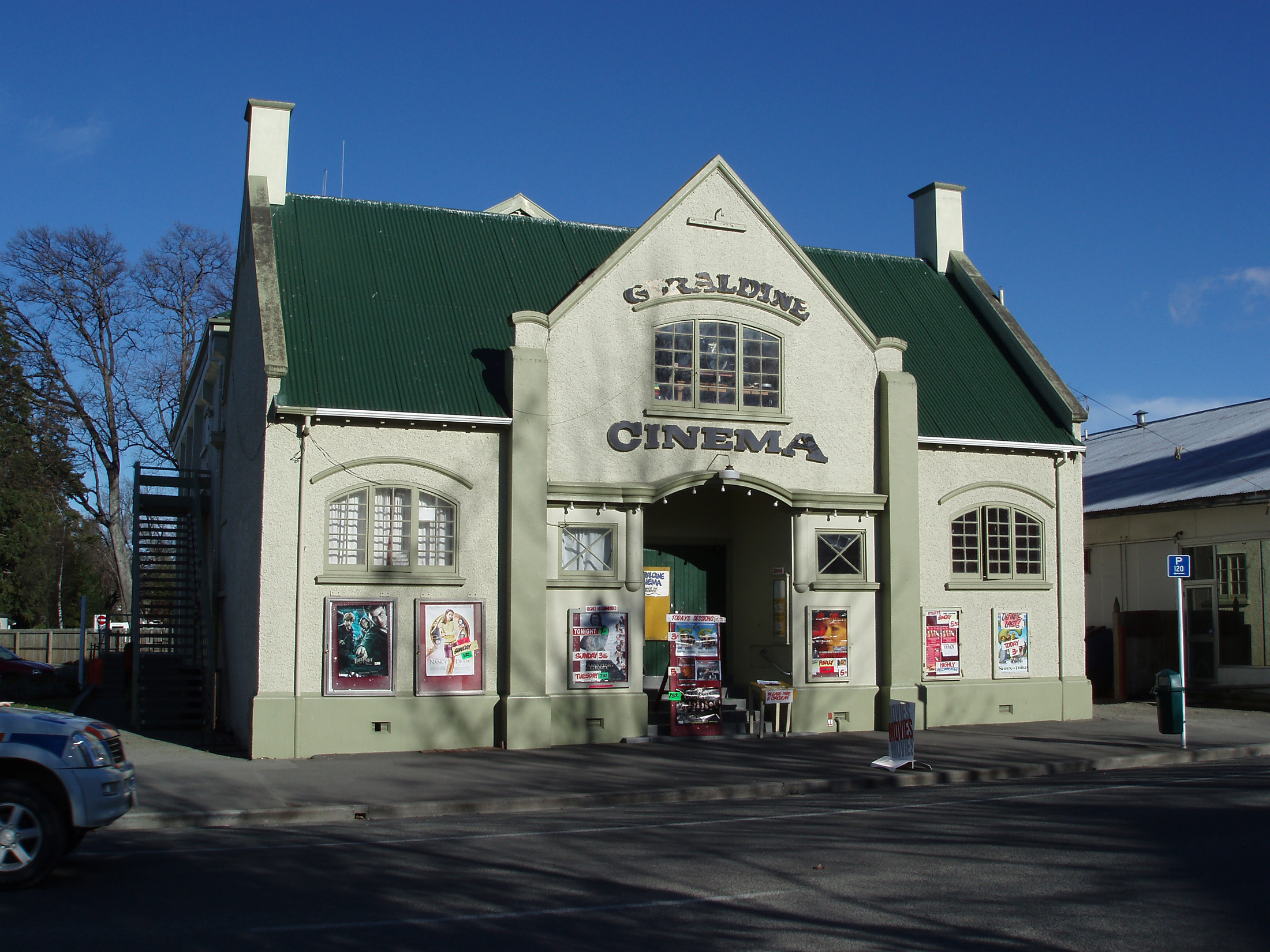small country town cinema newzealand