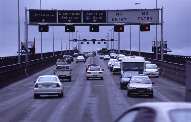 Free Stock Photo Of Traffic On The Tasman Bridge Hobart