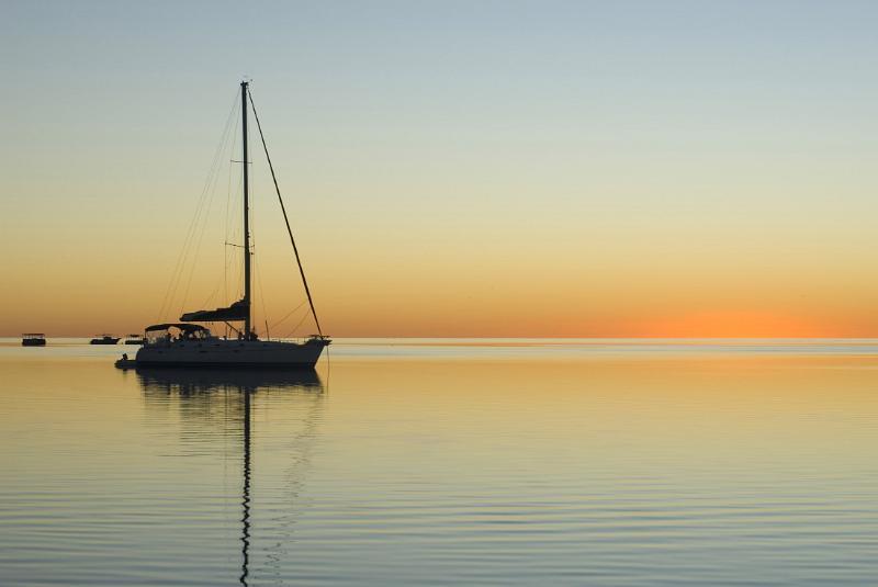 Free Stock photo of sailing sunset   Photoeverywhere