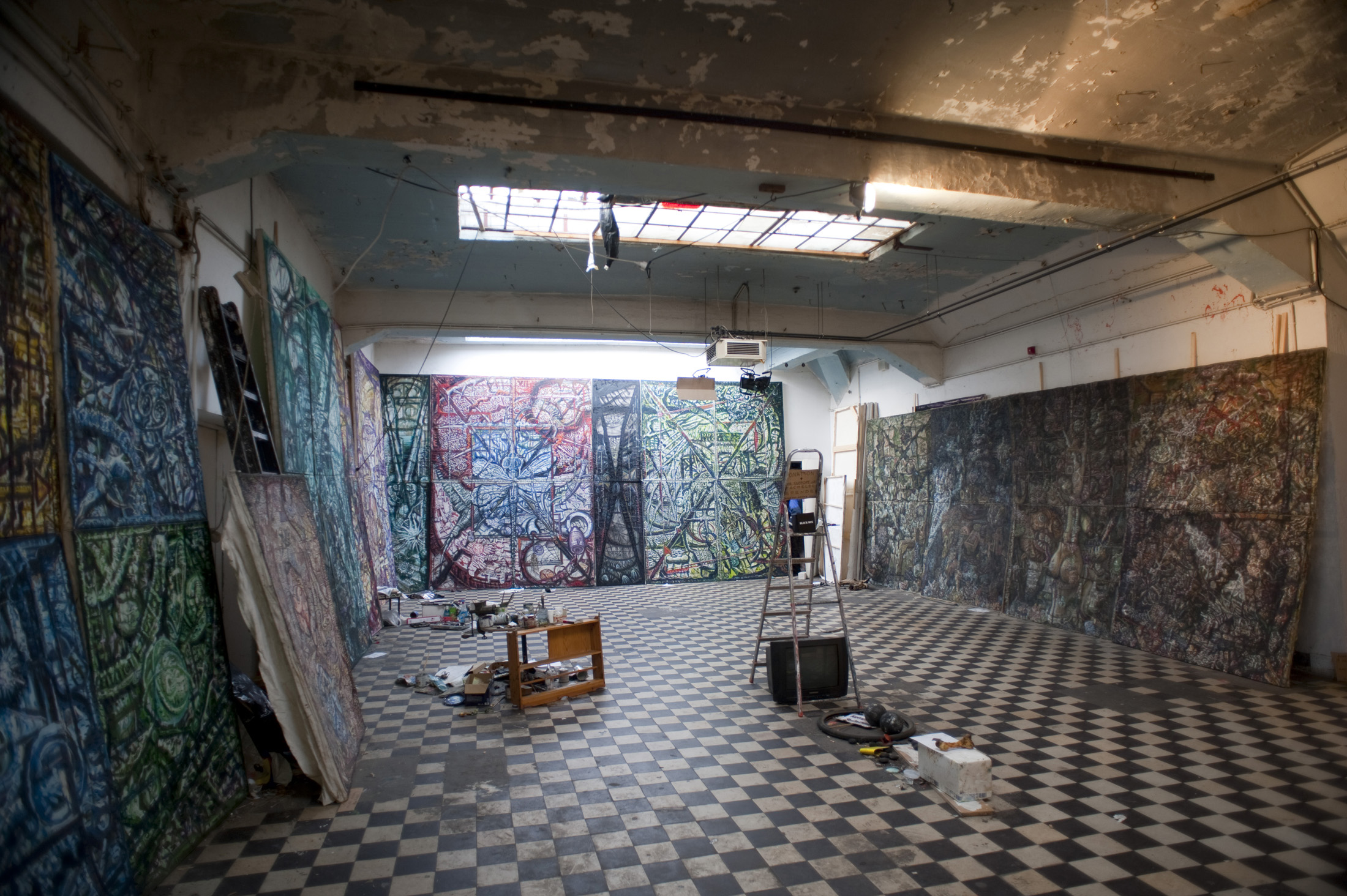 art space in the former Kunsthaus Tacheles art squat