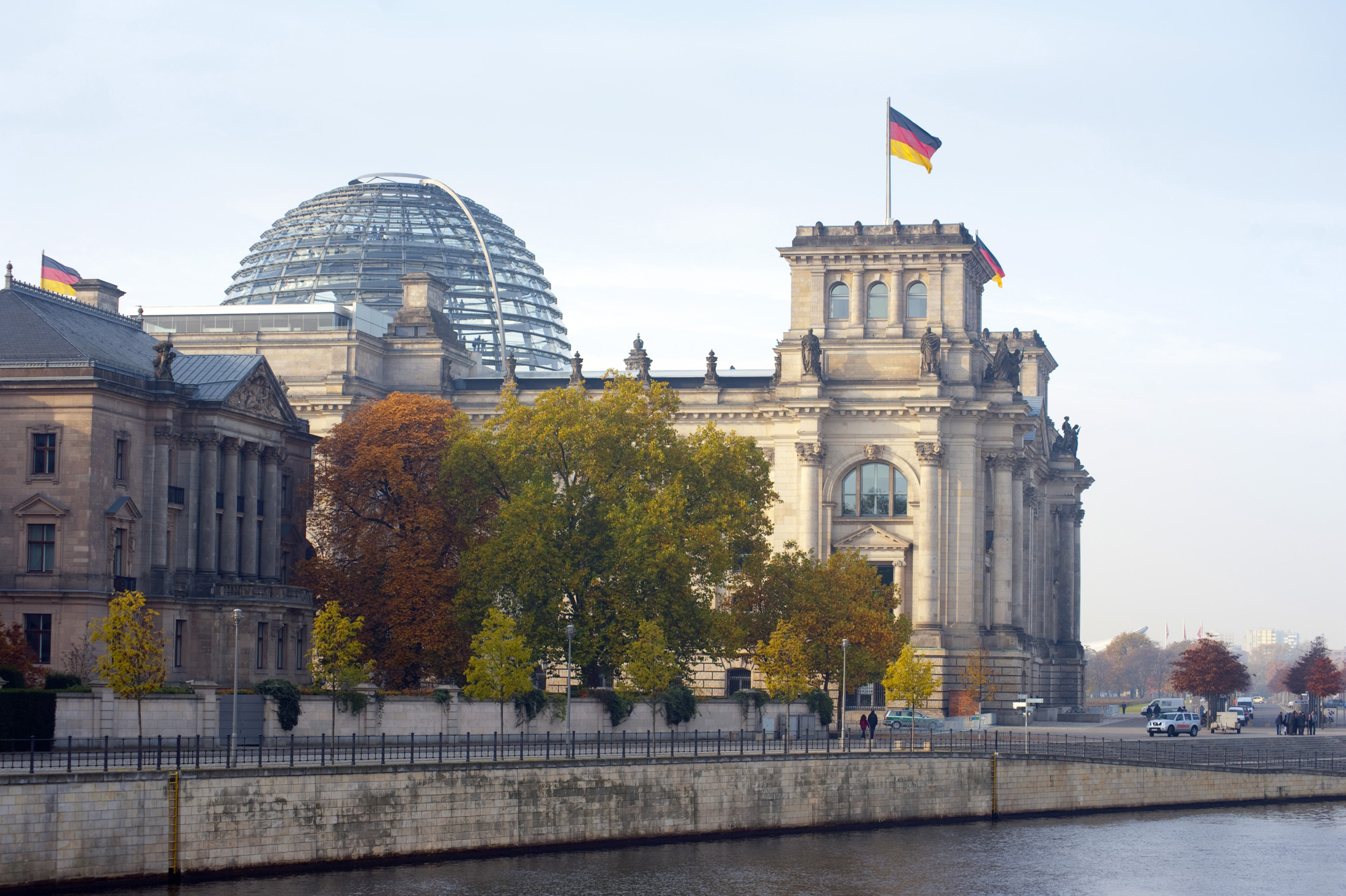 The reichstag in berlin, home of the german parliament