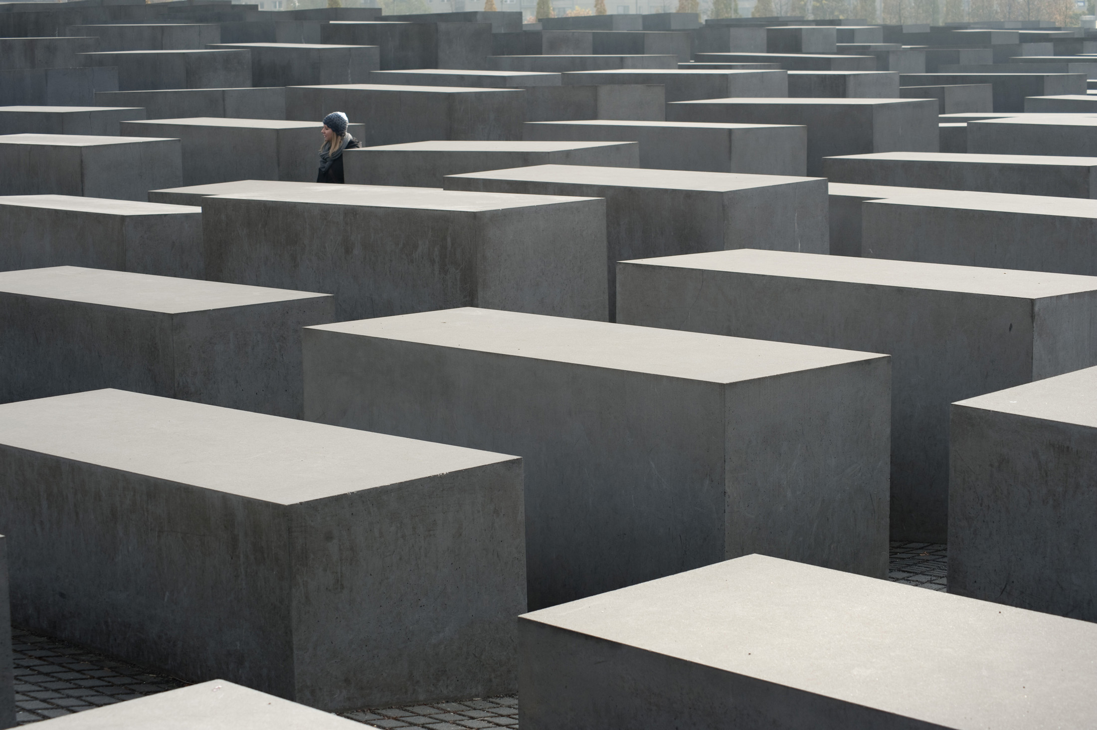 Memorial in Berlin for those who died during the holocaust