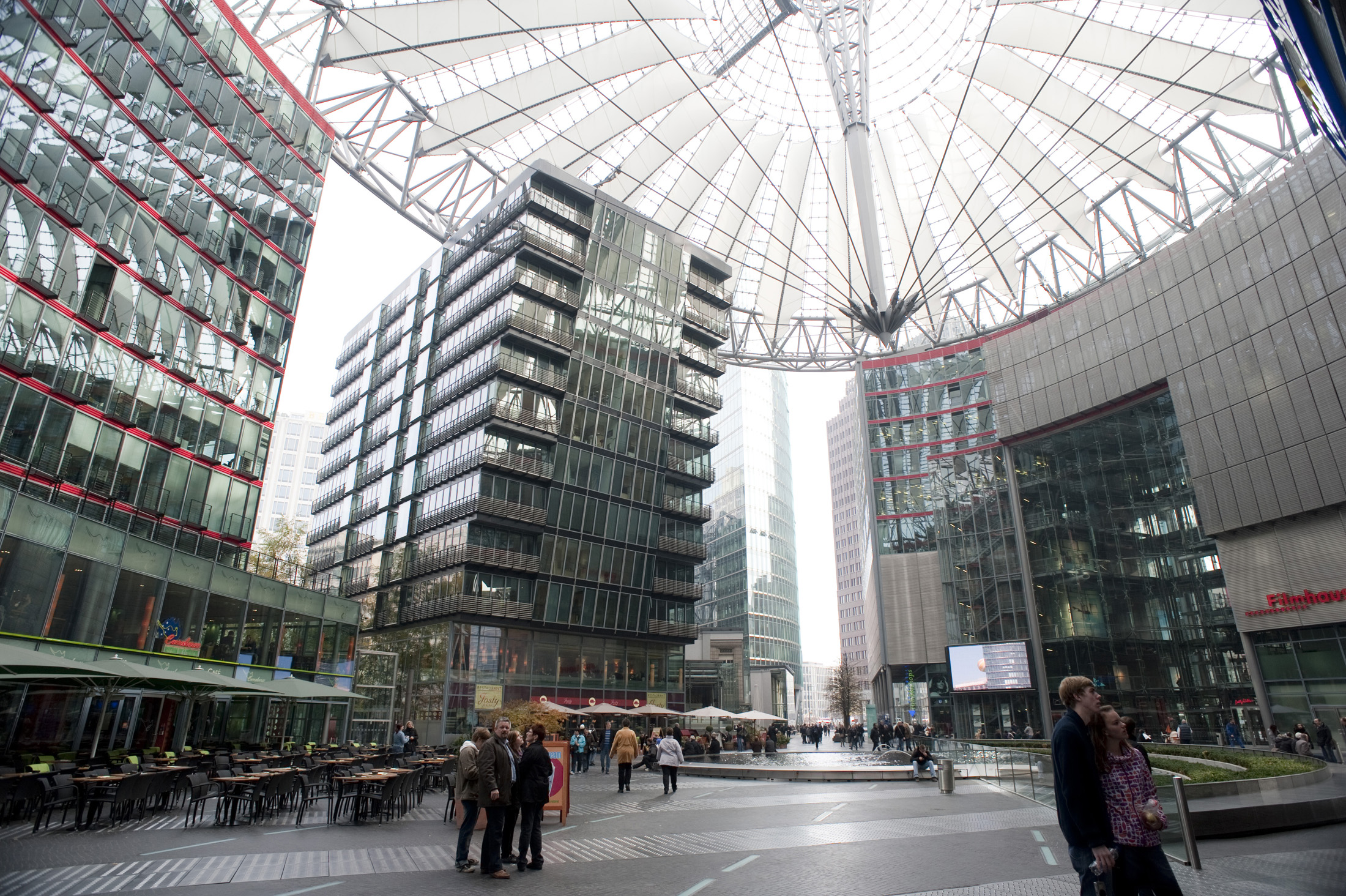 Free Stock photo of Interior of the Sony centre ...