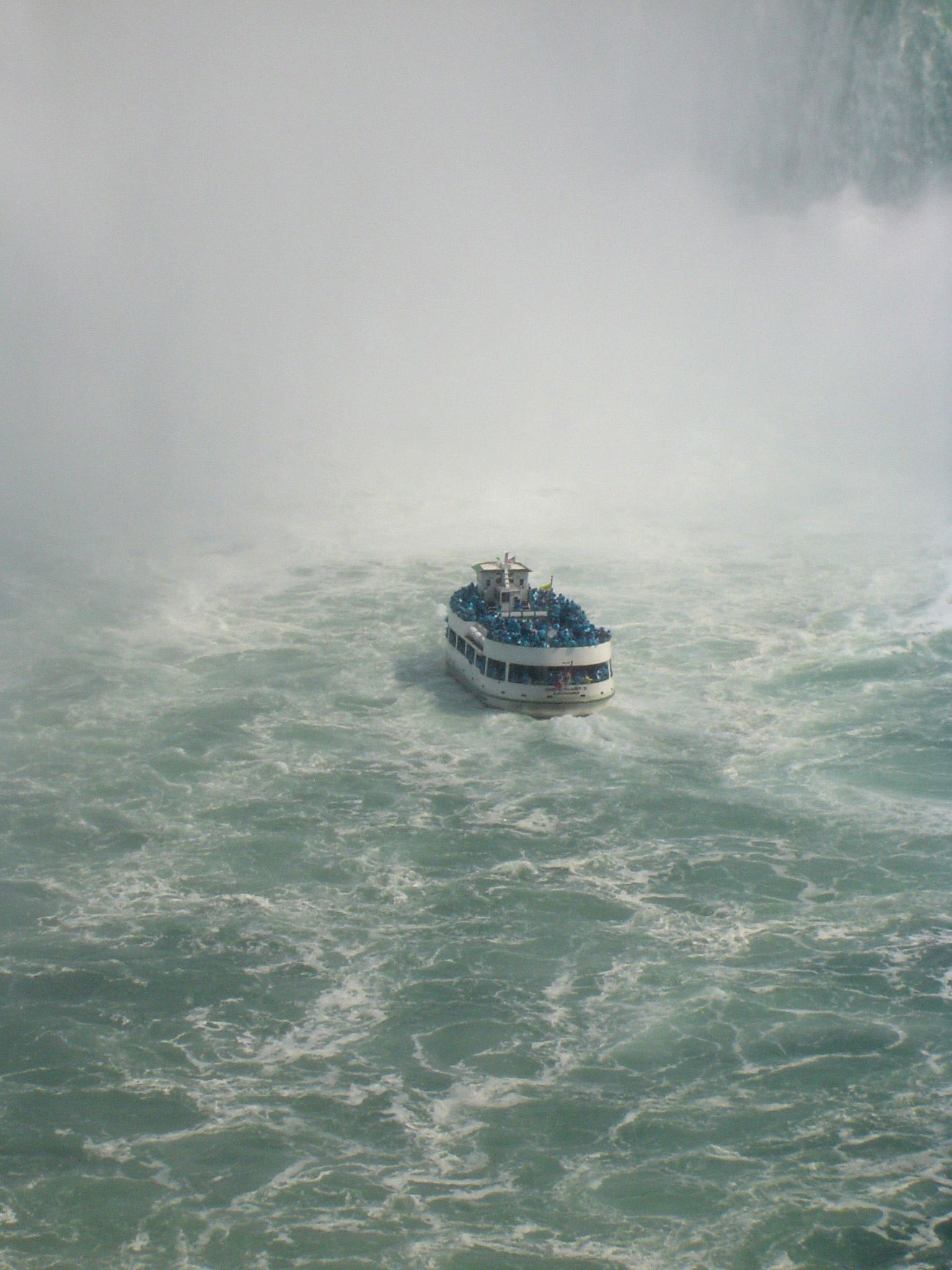 Maid of the Mist Tour Boat at Niagara Falls, Ontario, Canada