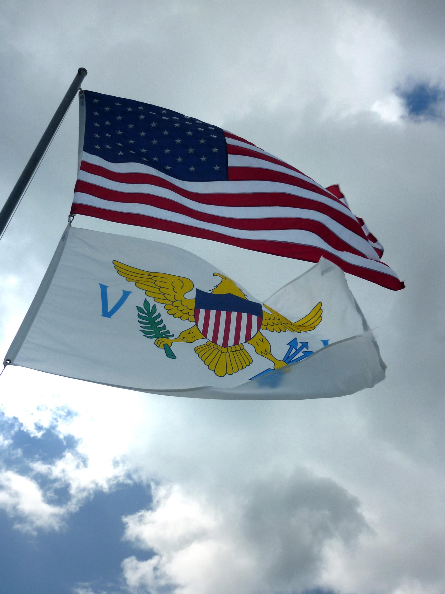Free Stock photo of Virgin islands flags | Photoeverywhere