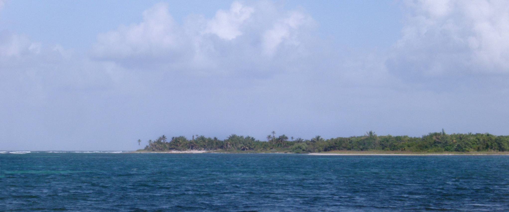 Beautiful troical coastline of the yucatan peninsula, Quintana Roo, Mexico