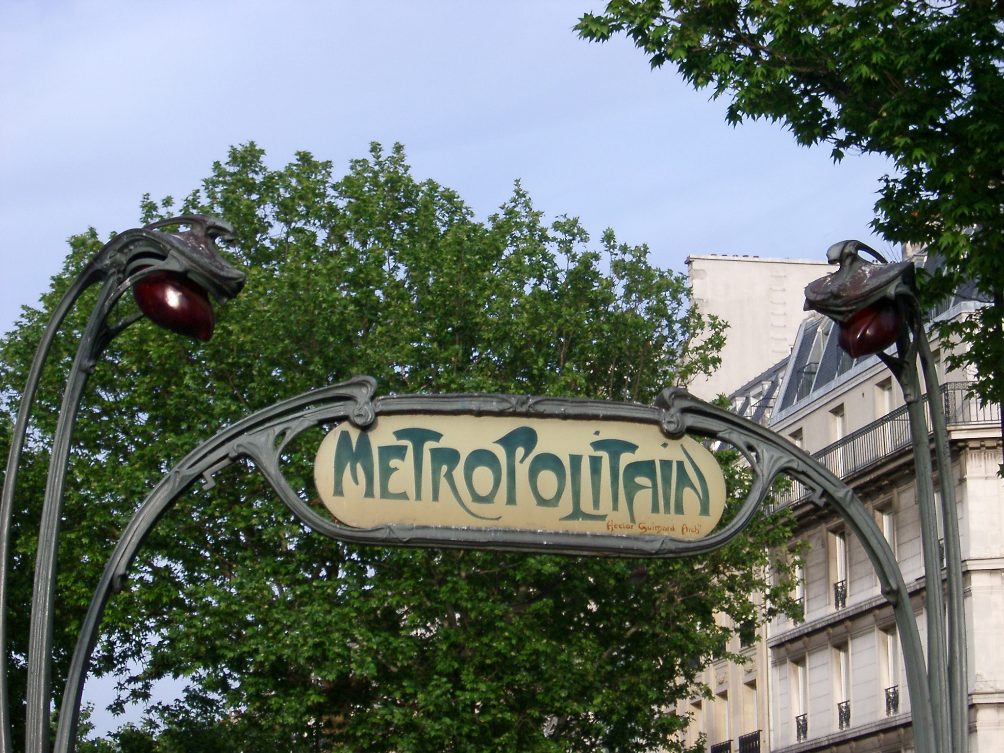 Free stock photo of art deco paris metro sign for Deco in paris