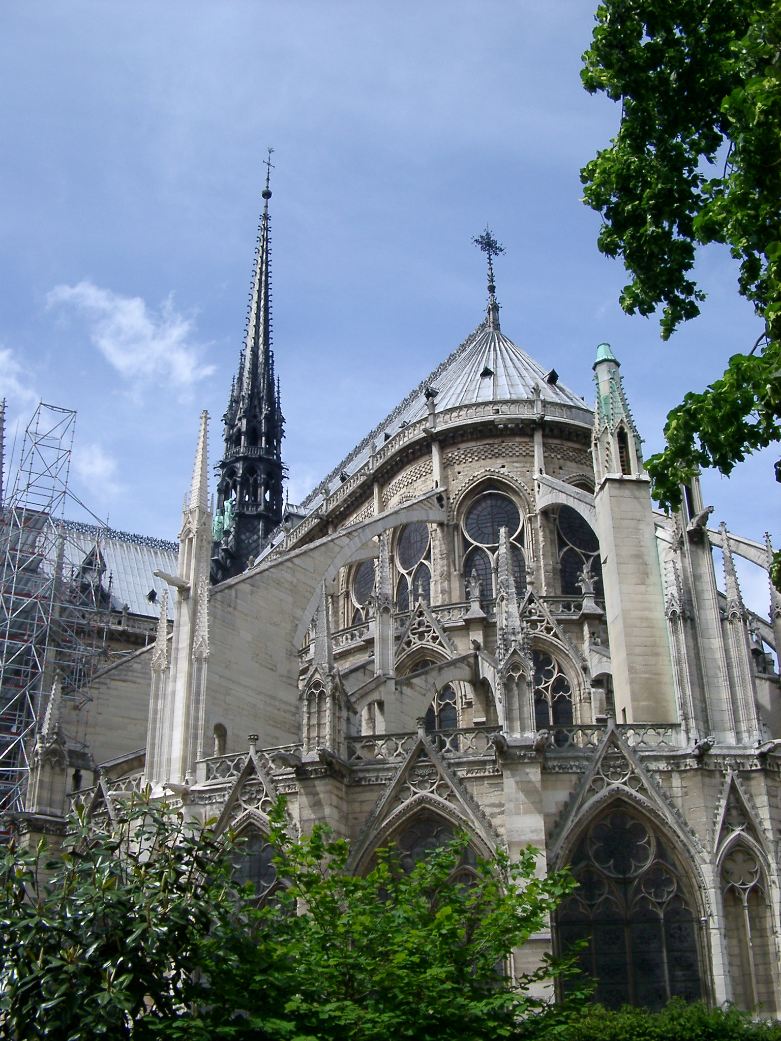 free stock photo of exterior of notre dame cathedral in
