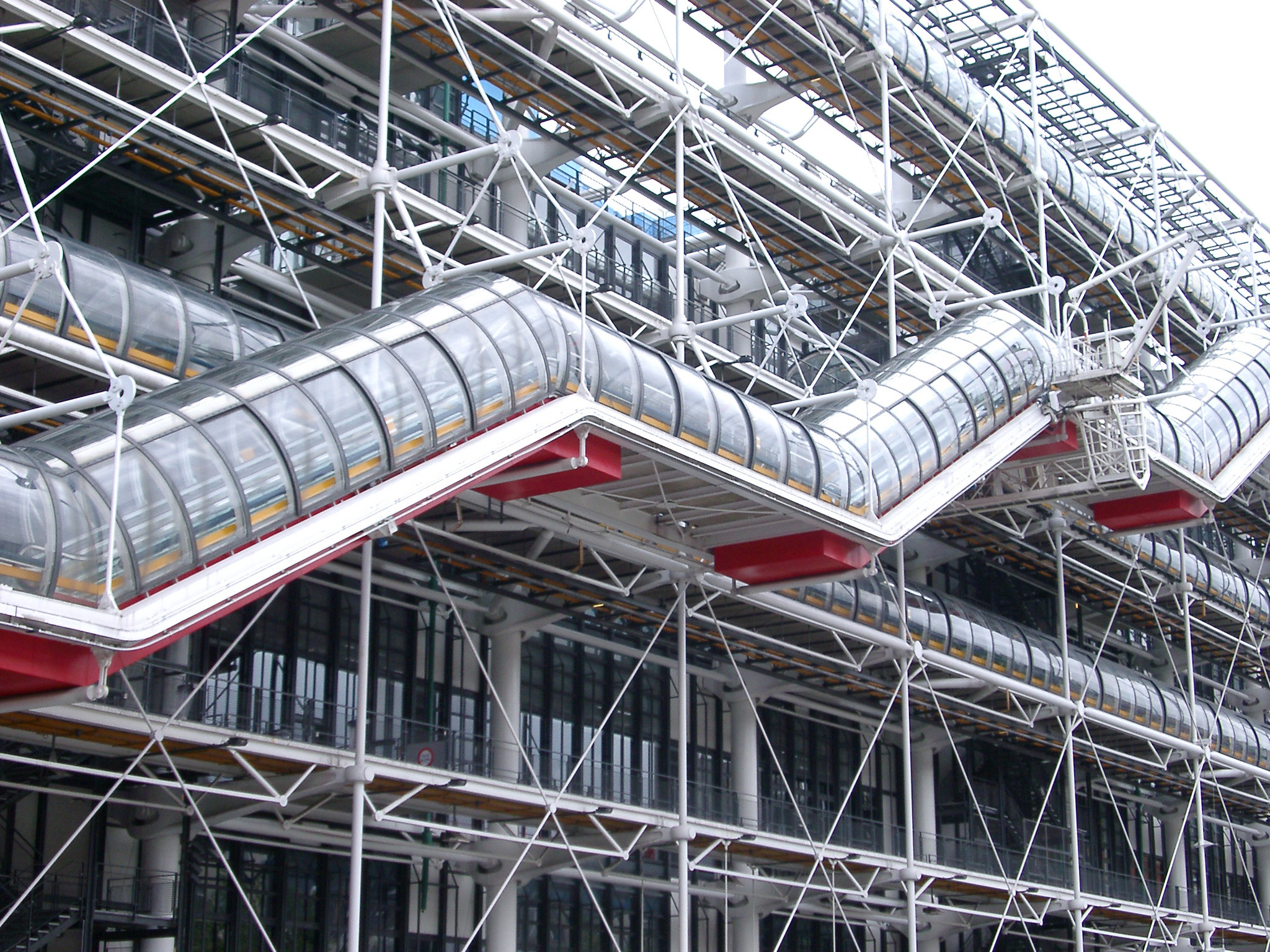 Free stock photo of exterior of the centre georges - Centre george pompidou architecture ...