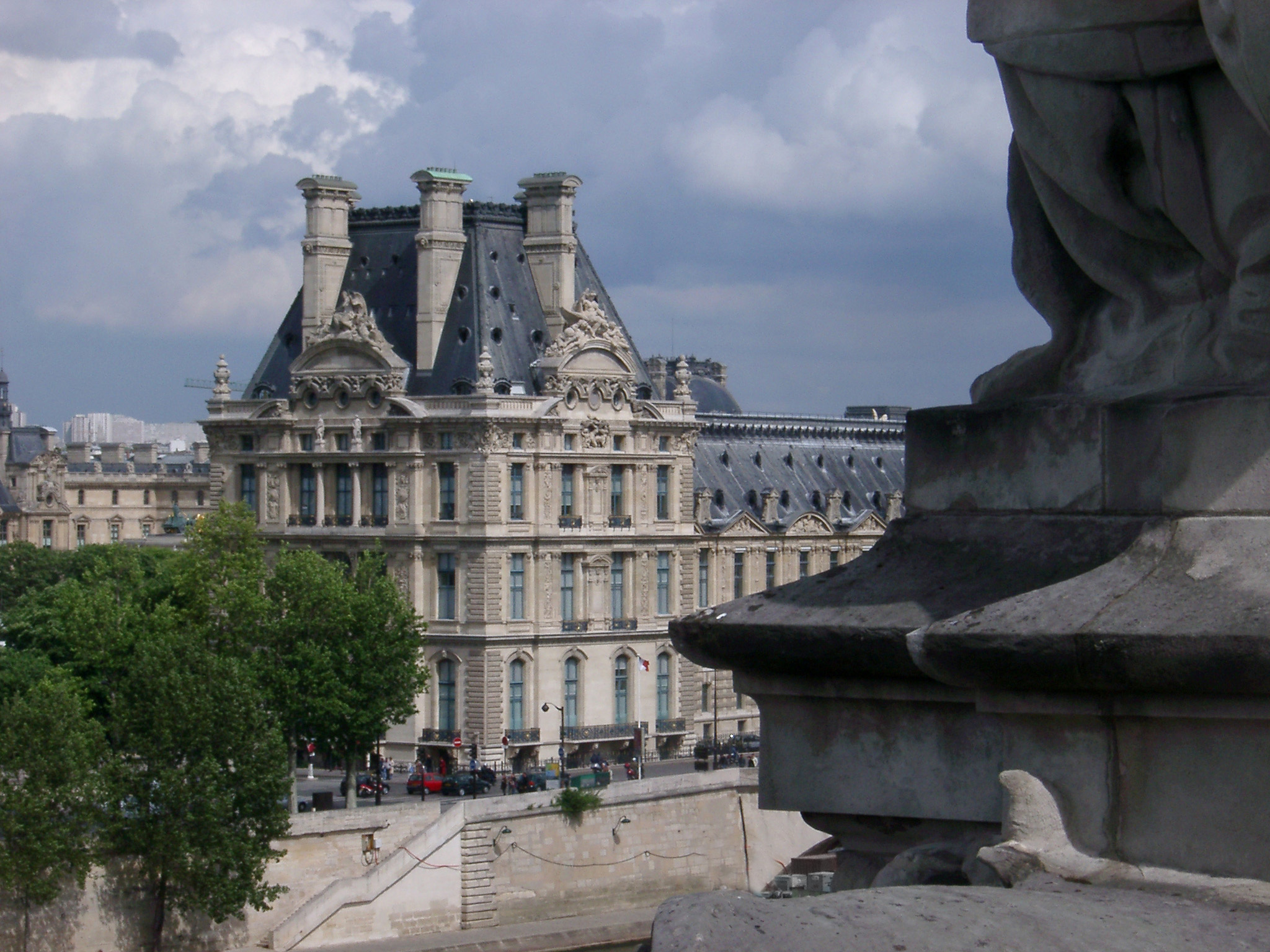 View from Roof of Musee de Orsay in Paris, France