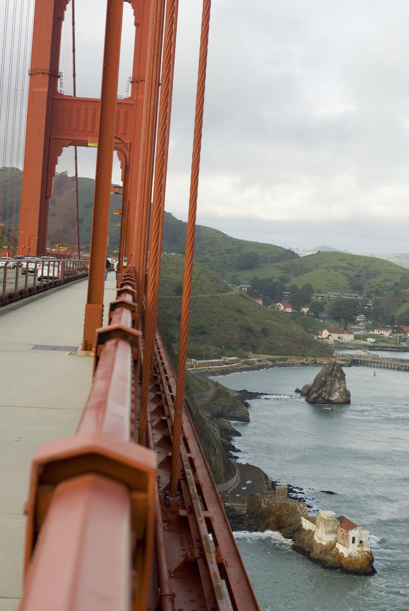 Free Stock photo of Walk along the Golden Gate Bridge ...