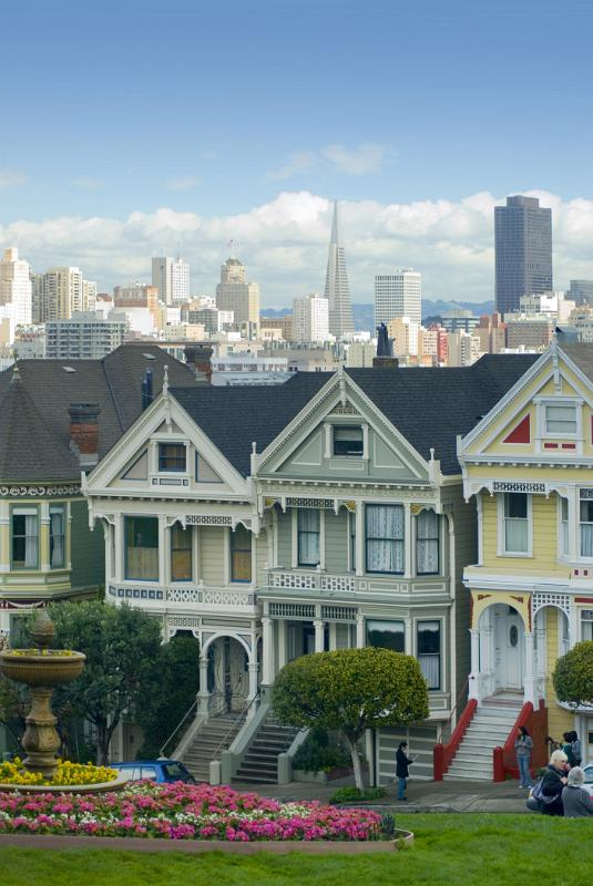 Free Stock Photo Of View Of The Painted Ladies In Alamo