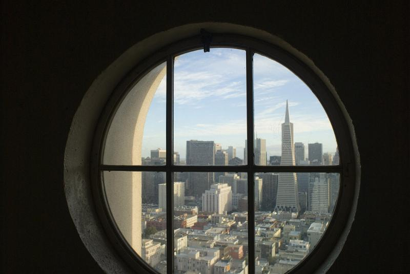 Free Stock Photo Of View Of San Francsico From The Coit
