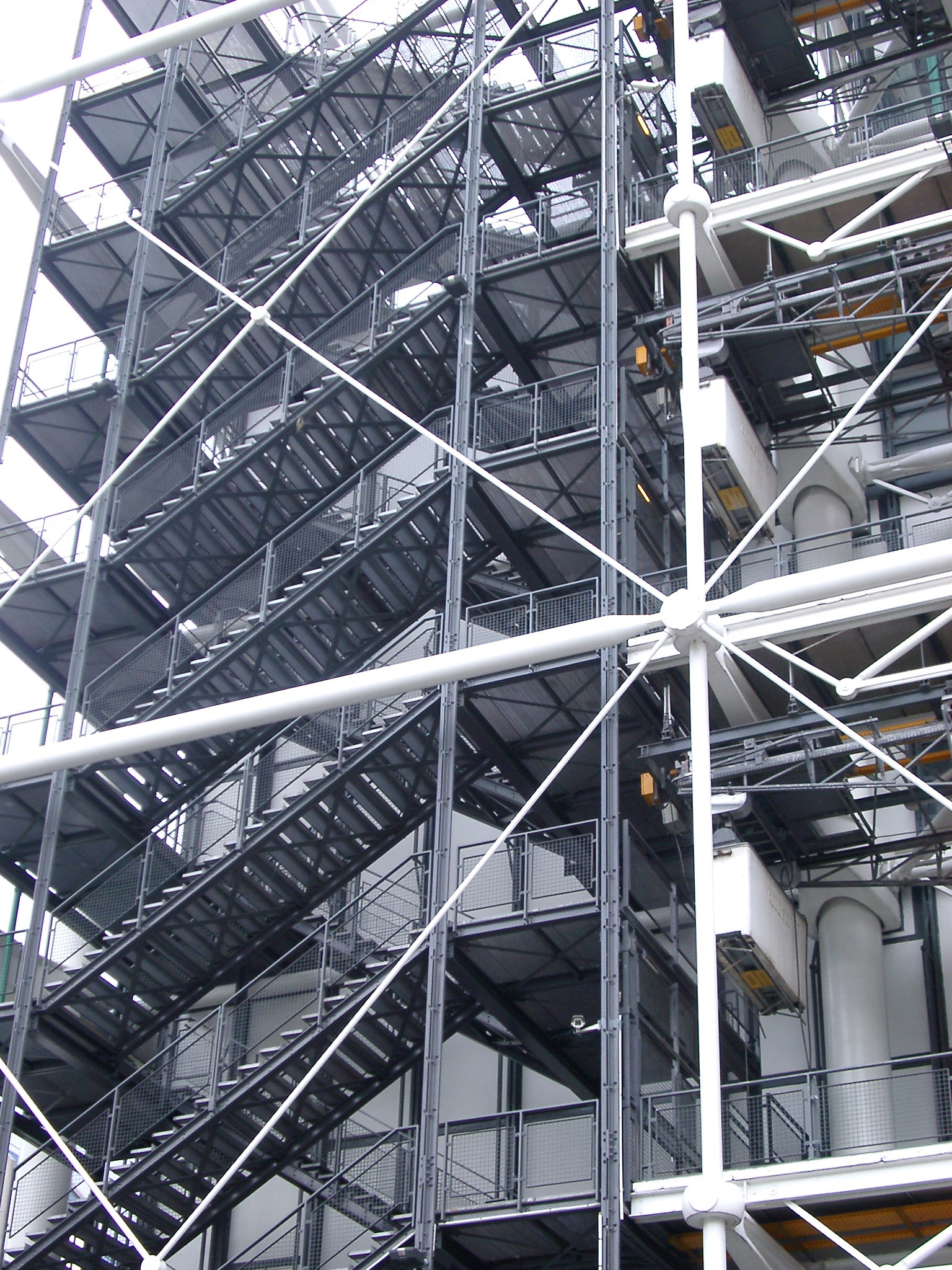 Free Stock photo of Exterior of the Georges Pompidou ...